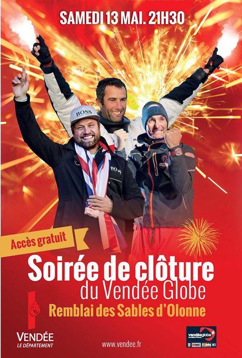 Remise des prix du Vendée-Globe 2016-2017
