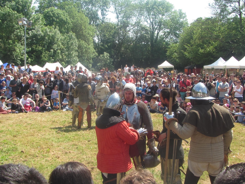 La fête médiévale attire tous les ans  les férus d'histoire mais aussi tous ceux qui souhaitent découvrir la vie des hommes et des femmes de cette époque.