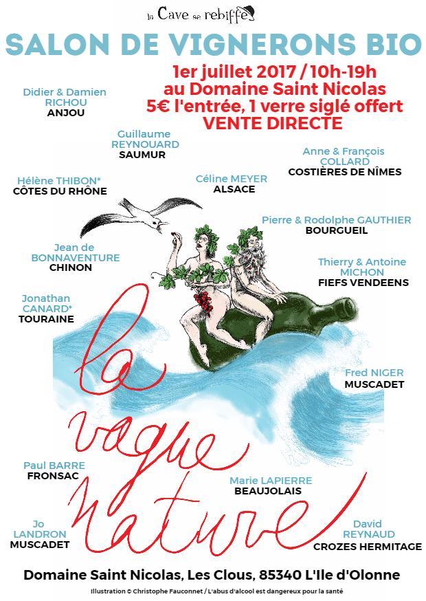 Salon de vignerons bio « La Vague Nature »