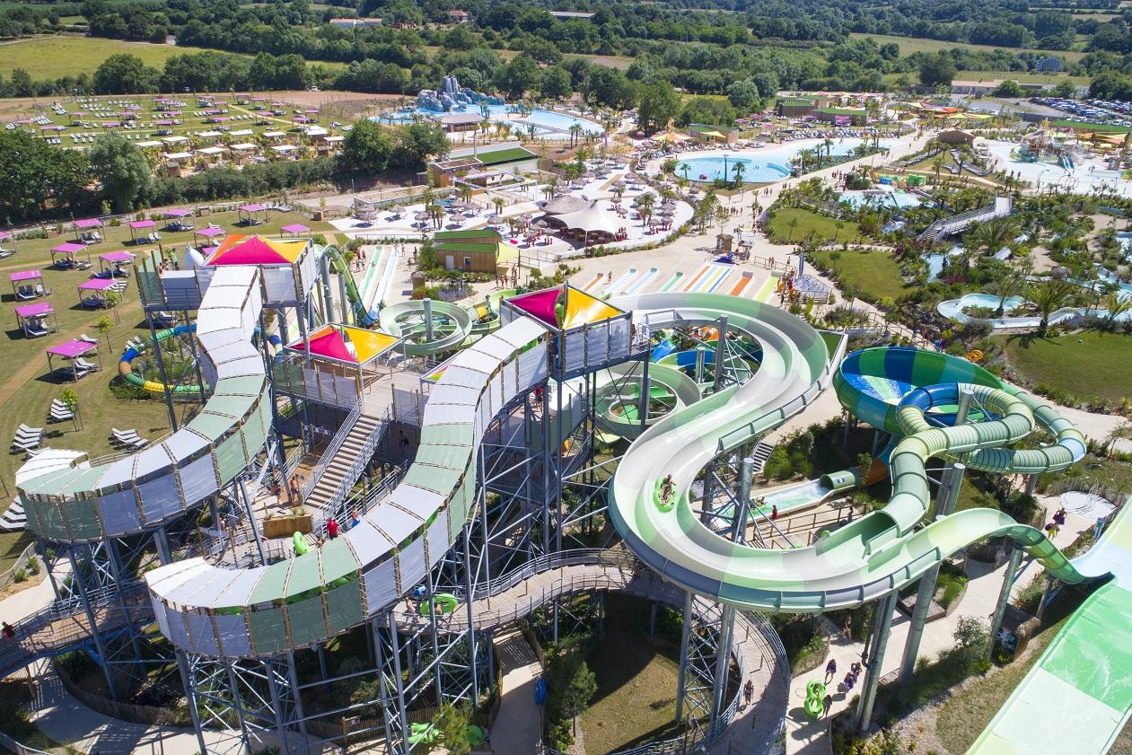 O'Gliss park a ouvert en juin 2016 en Vendée au Bernard