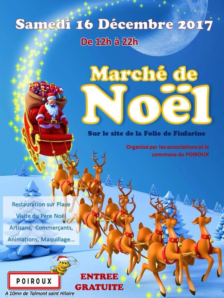 Poiroux: Marché de Noël sur le site de Finfarine le samedi 16 décembre de 12h00 à 22h00