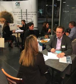 Le 6 décembre dernier à Nantes, 11 entreprises à la rencontre de 70 jeunes