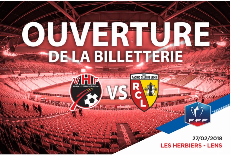 Les Herbiers Football face Lens à la Beaujoire mardi 27 février à 21h05