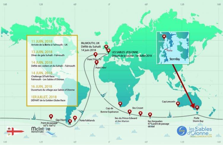 Le tourdumondiste français Patrice Carpentier a été nommé Directeur de course de la Golden Globe Race