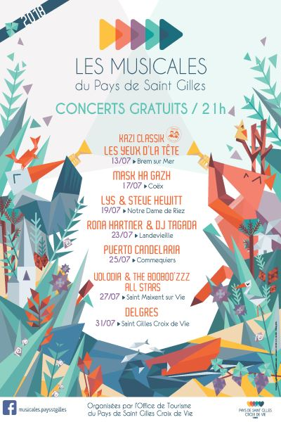 Les Musicales du Pays de Saint Gilles Un festival pour tous, familial et éclectique