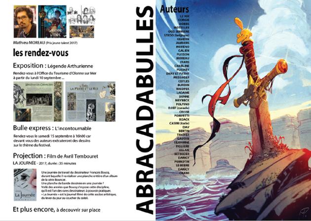 Olonne-sur-Mer:  Festival de la Bande dessinée samedi 15 et dimanche 16  septembre