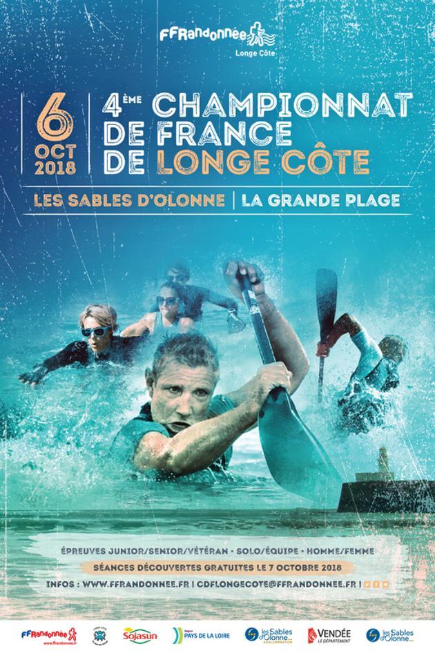 Les Sables d'Olonne: Championnat de France de Longe Côte les 6 et 7 octobre
