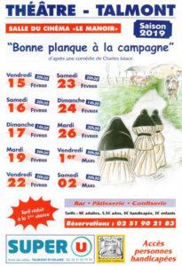 Talmont-Saint-Hilaire: Les baladins talmondais de nouveau sur scène avec Bonne planque à la campagne