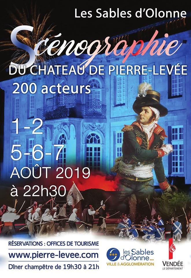 Olonne-sur-Mer plonge dans  l'histoire de Pierre de Pierre Levé à partir du 1 août