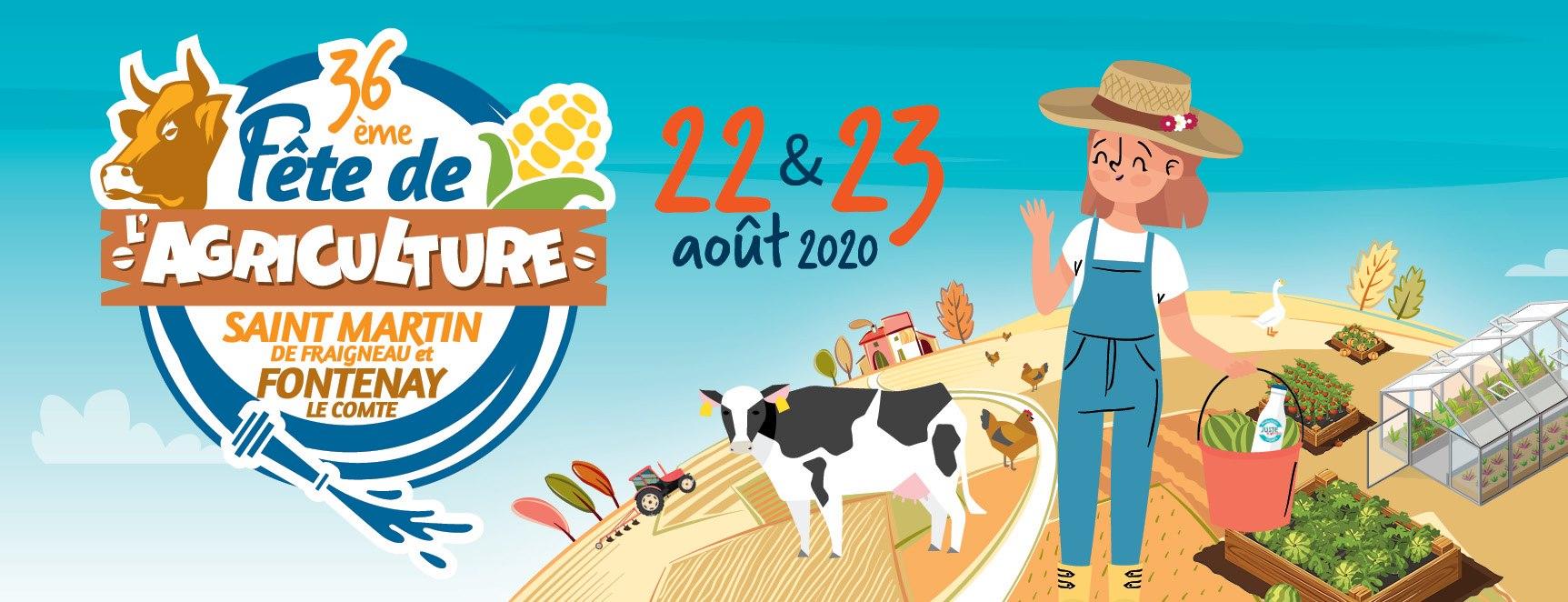 Annulation de la 36ème Fête Départementale de l'Agriculture de Vendée