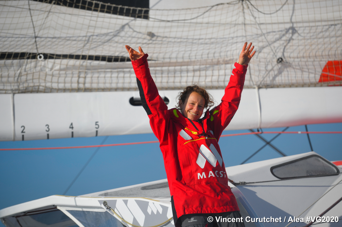 Isabelle Joschke a bouclé son tour du monde hors course