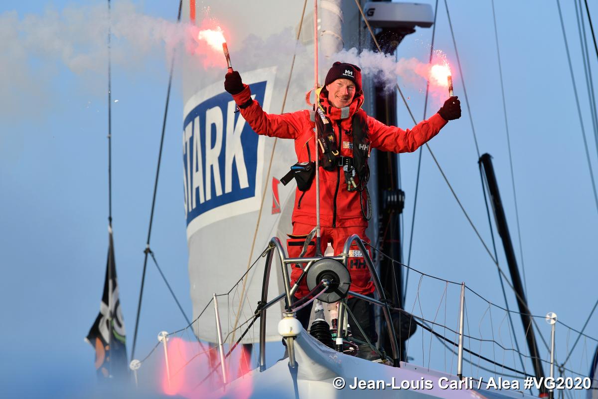 Ari Huusela, 25e du Vendée Globe !