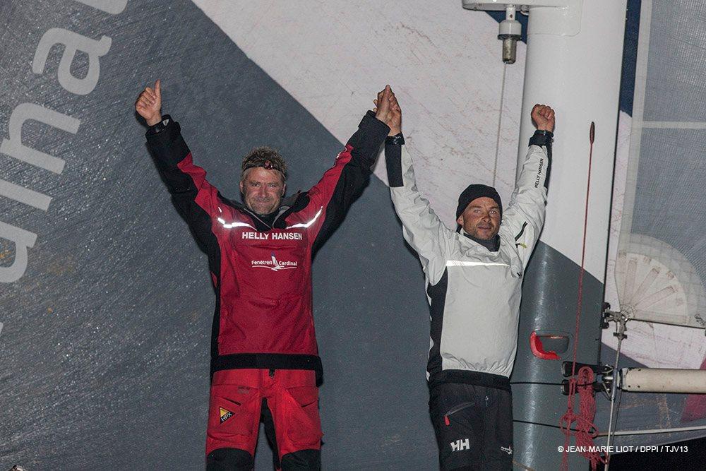 Erwan Le Roux et Yann Eliès (FenêtréA Cardinal) remportent la Transat Jacques Vabre en Multi50