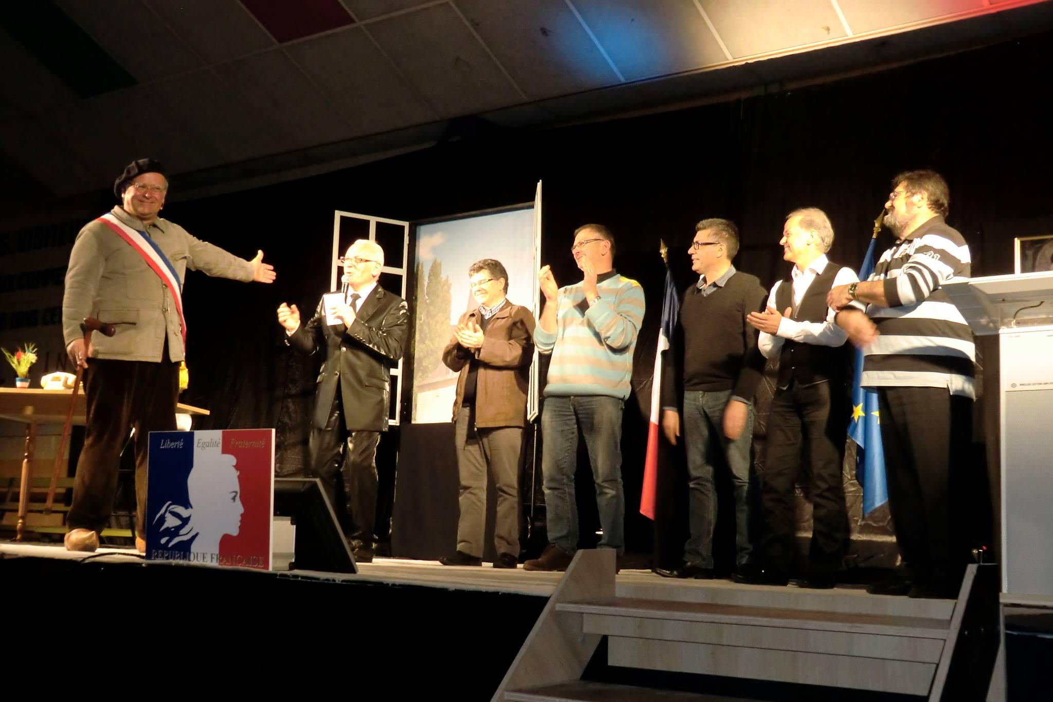 """""""Je vous salue mairie """" le nouveau spectacle de Chapuze"""