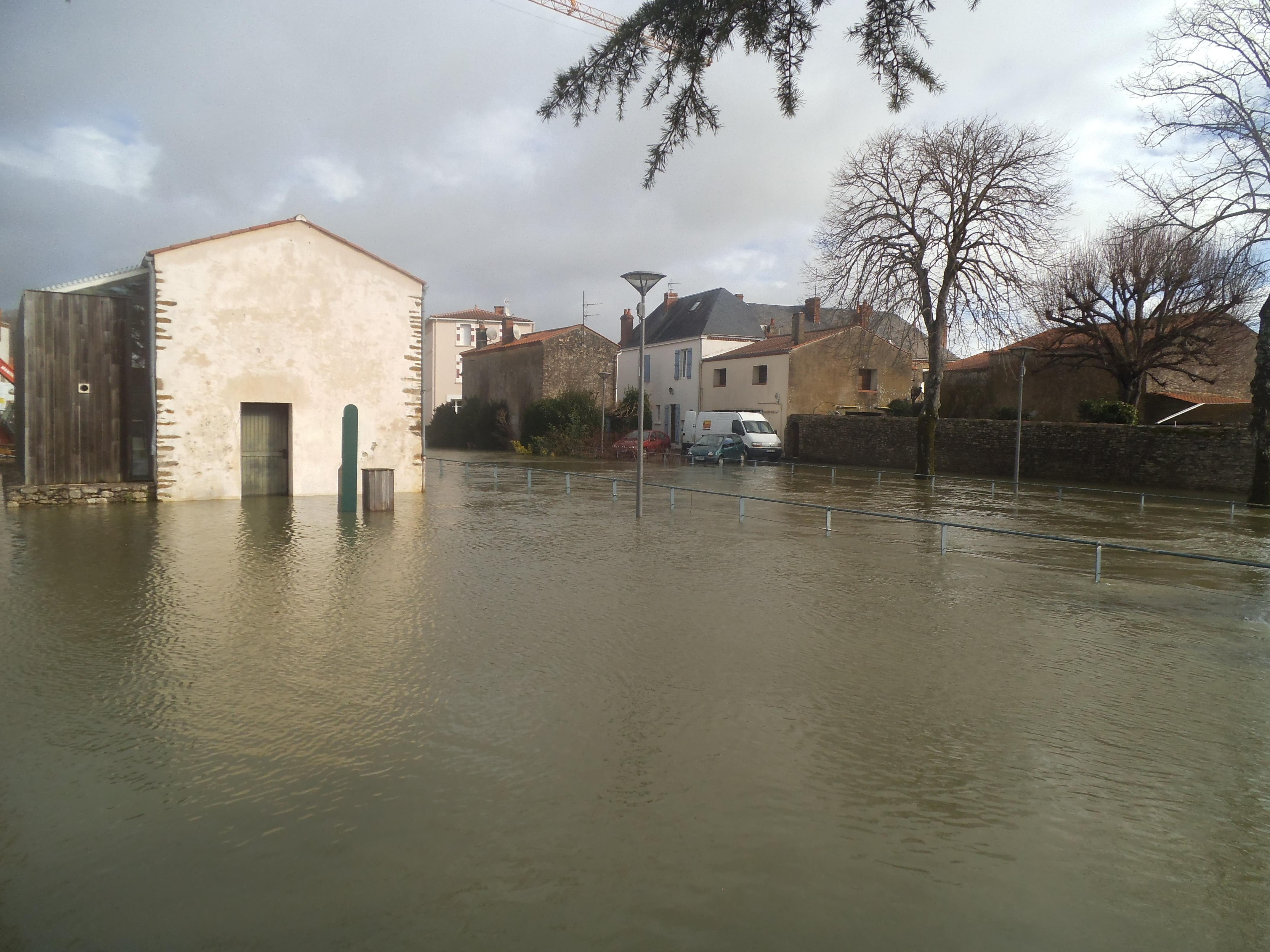 La bibliothèque sous les eaux  jeudi 13 février 2014