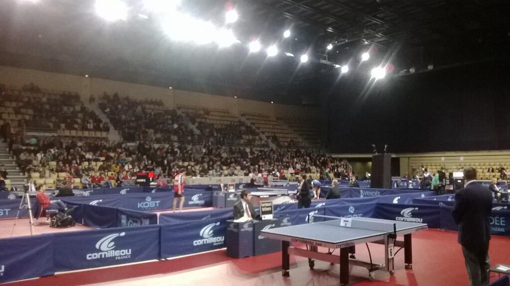Compétition nationale de tennis de table au Vendéespace du  vendredi 28 février au dimanche 02 mars
