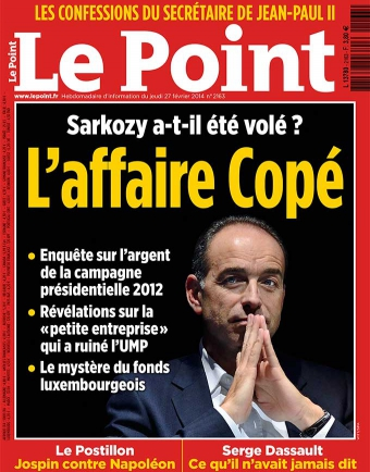 La réaction de Jean François Copé suite aux accusations du Point