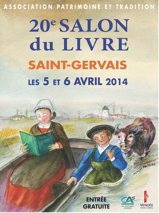 Saint-Gervais: salon du livre les 5 et 6 Avril  à la salle des Primevères, de 9 h00 à 11 h 30 et de 14h00 à 19h00.