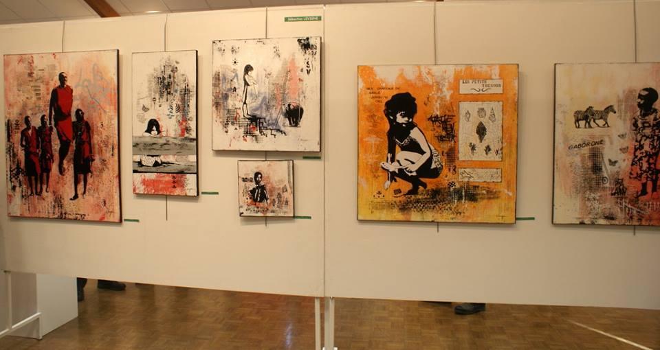 """Exposition """" Artistes pour l'Espoir"""" peinture, sculpture, gravure, 24 artistes professionnels."""