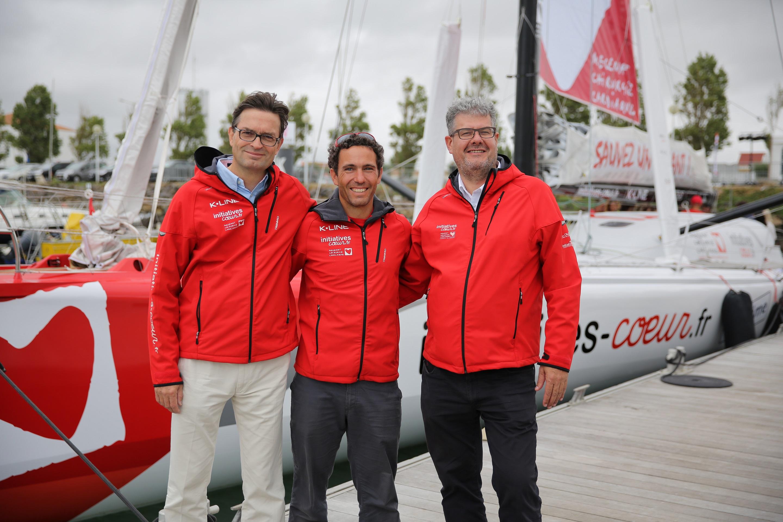 Le nouveau bateau Initiatives-Cœur  présenté aux salariés de K-LINE