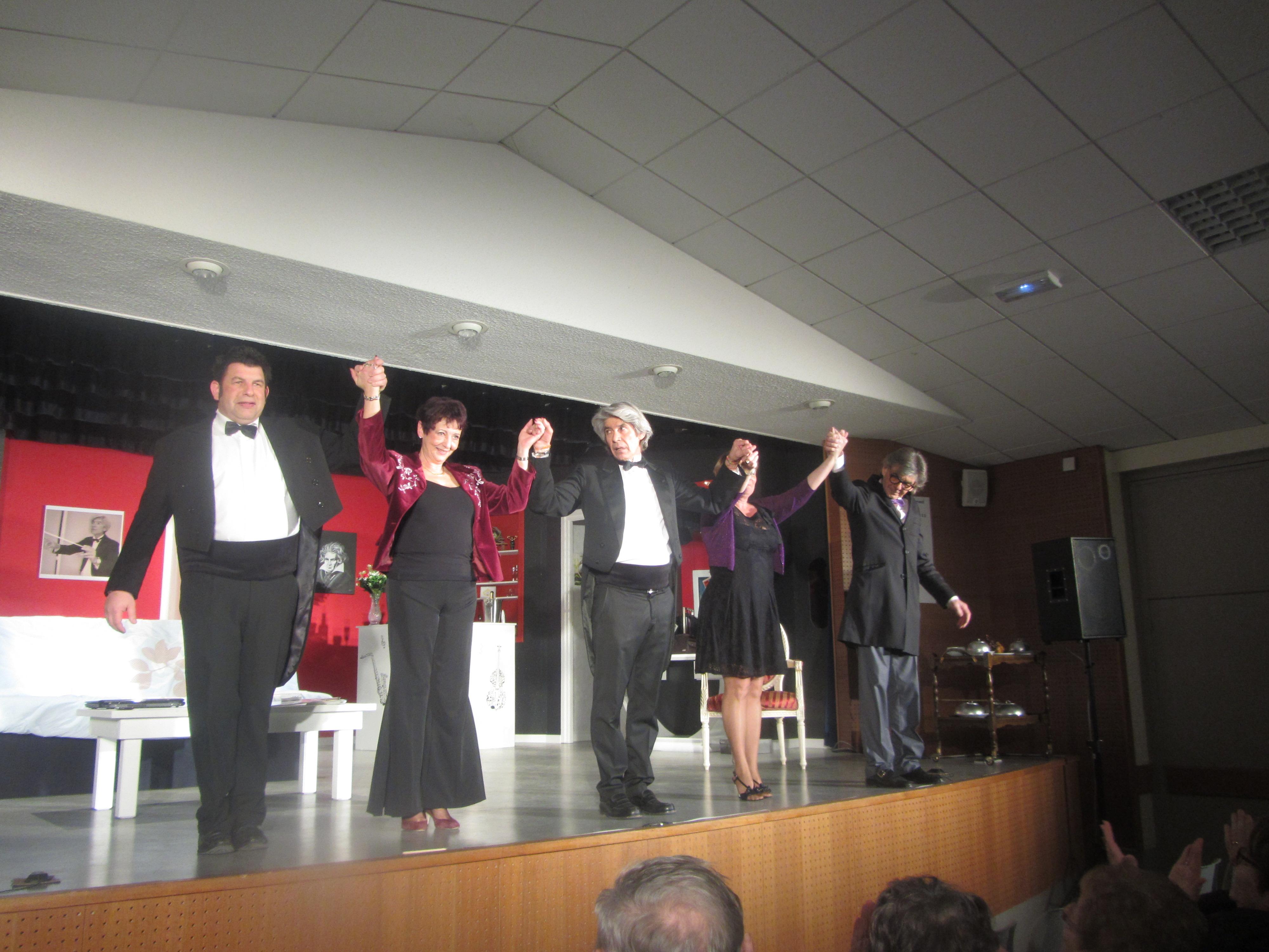 La symphonie des faux-culs  avec la troupe de Saint-Vincent-sur-Jard