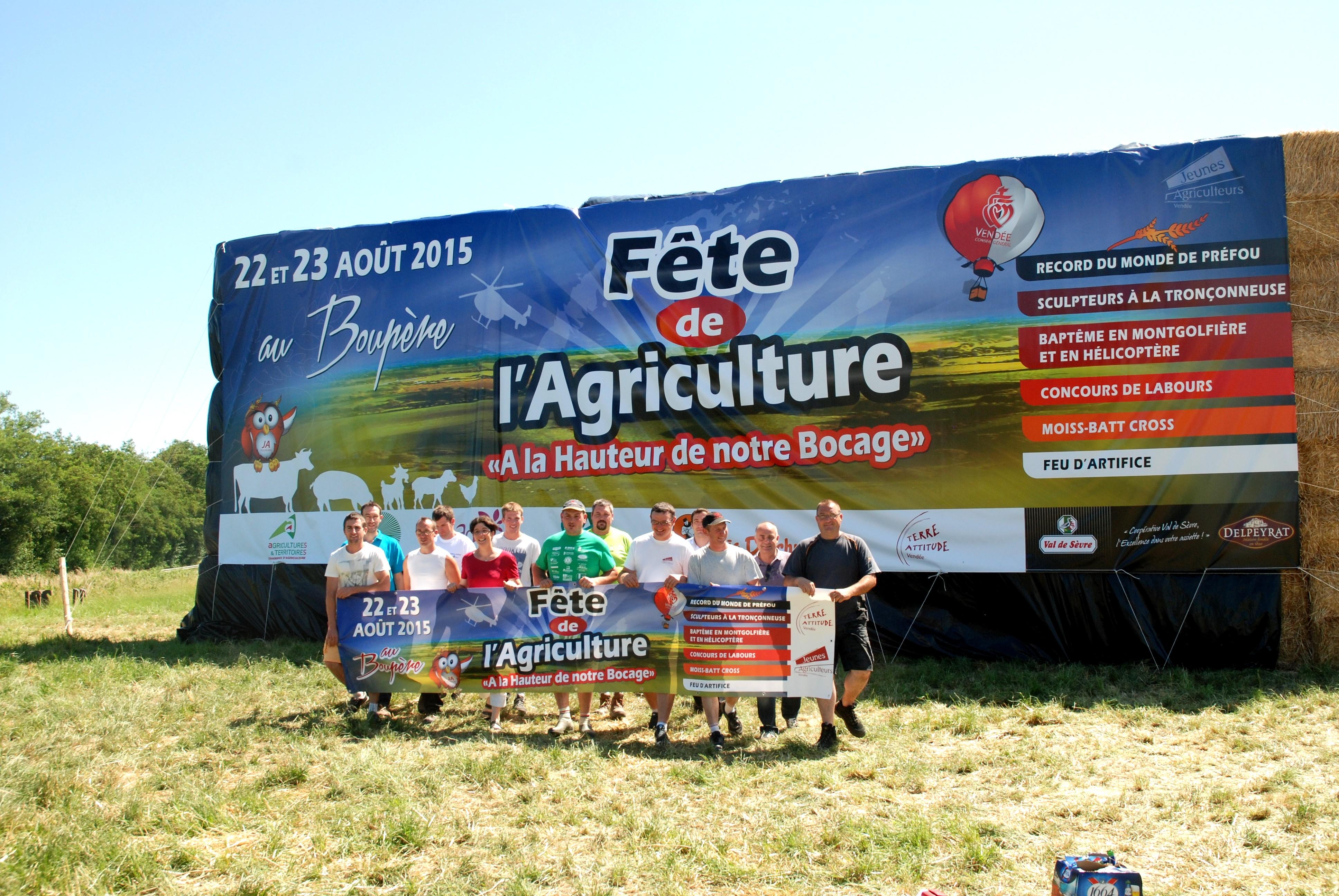 Fête de l'agriculture: plus de 30 000 personnes sont attendues les 22 et 23 août