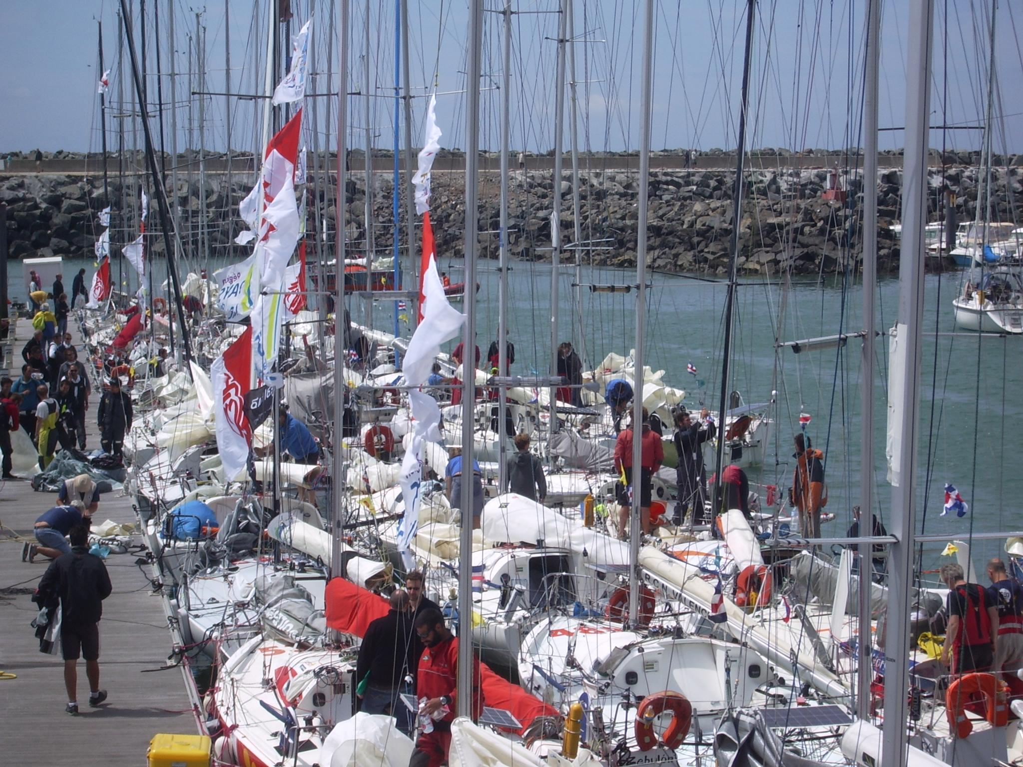 Talmont-Saint-Hilaire: 52 concurrents sur les rangs de la 15 édition de la Transgascogne 6.50