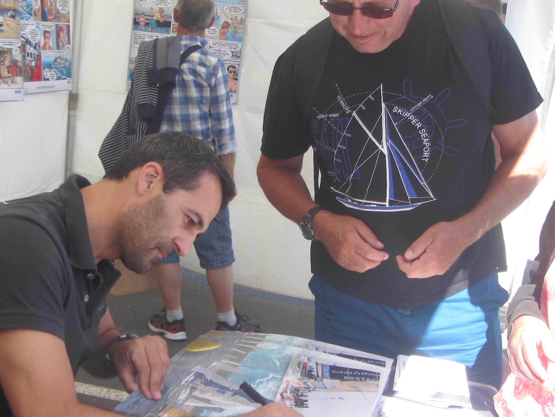 Autour du monde sur un voilier de 6.50 mètres avec Alessandro Di Benedetto