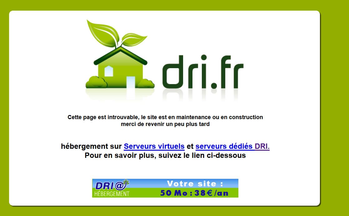 Le site internet de la Région des Pays de la Loire piraté