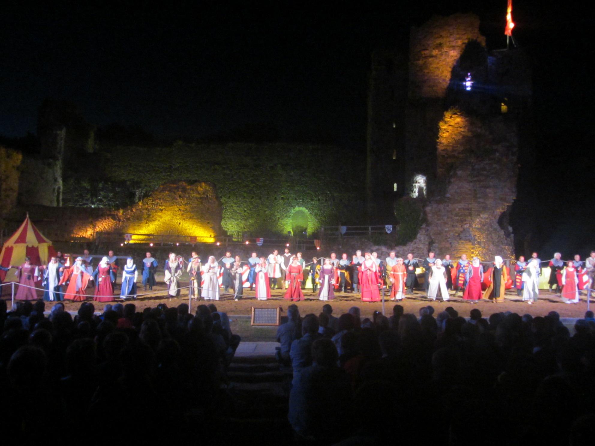 Château de Talmont: le premier spectacle nocturne de la saison aura lieu le mardi 19 juillet