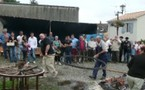 Aubigny : La fête des métiers d'hier et d'aujourdhui perturbée par la pluie