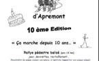 """Rallye pédestre: """"La Grand'vadrouilled'Apremont"""" dimanche 18 septembre"""