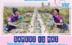La place Napoléon aux couleurs du Vendée Rugby Féminin
