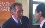 François Bayrou en visite à Bouin dans le Nord Vendée