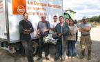 Grève et don de lait sur le Canton de Talmont- Saint-Hilaire