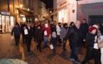350 personnes se sont réunies pour participer à la fresque humaine du 2 février