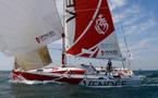 Solitaire du Figaro / à la veille du  départ de la 2ème étape Gijon > Brest