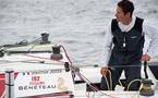 Les skippers des Figaro Bénéteau « Vendée » et « Vendée 1 », relégués en deuxième partie de classement à mi-course