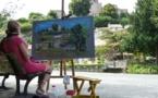 Le marché au village de Mouchamps et son concours de peinture «Peindre Mouchamps»