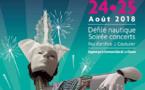 Grande Bordée: concerts, danse folklorique, défilé nautique, visite du Galion, conférences, expositions... découvrez le programme complet des 24 et 25 août prochains.