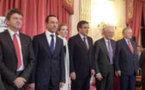 """Le sénateur non inscrit et nouveau président du Conseil général de Vendée, Bruno Retailleau, remporte le prix de """"l'élu local de l'année""""."""