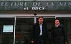 Gonzague de Chantérac et Sylvie Durand cantonales La Roche sur Yon nord
