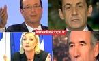 """François Bayrou s'est présenté comme le candidat de """"l'espoir"""" face à ses concurrents de l'UMP et du PS"""