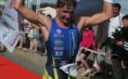 Victoire de Yavn Tutukin (RUS) et de sa compagne Inna Tsyganok (UKR)sur le triathlon de Jard-sur-Mer