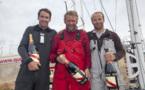 Yann Eliès vainqueur de La Solitaire du Figaro - Eric Bompard Cachemire