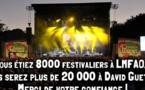 David Guetta au festival de Poupet : 16 000 places vendues