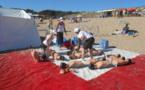 Appel à la plus grande prudence sur les plages