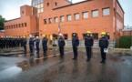 La cérémonie pour les sapeurs-pompiers de la Vendée s'est tenue ce vendredi 1er octobre à 18h30 au sein de la direction départementale.