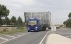 Un convoi exceptionnel a traversé la Vendée