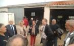 Élections européennes: Gilles Lebreton à la rencontre des ostréiculteurs vendéens